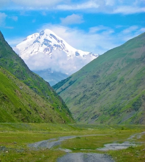 kazbek, Georgia, Caucasus