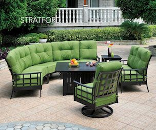 Beautiful And Affordable Cast Aluminum Patio Furniture In Pittsburgh.