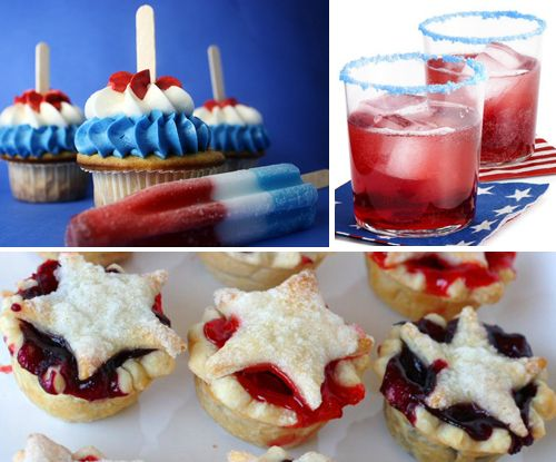 : Recipes Ideas, Minis Pies, Desserts Recipes, Red White Blue, July Recipes, Blue Desserts, 4Th Of July, July 4Th, July Ideas