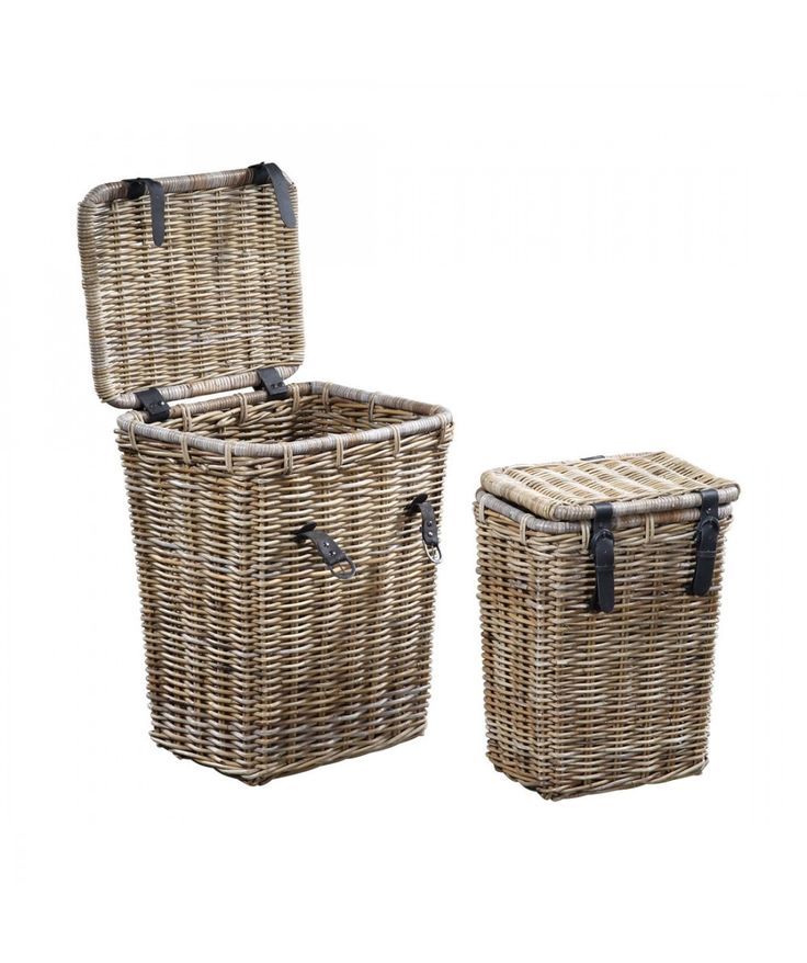Rattan Basket Medium | Home Office Furniture - Easterly
