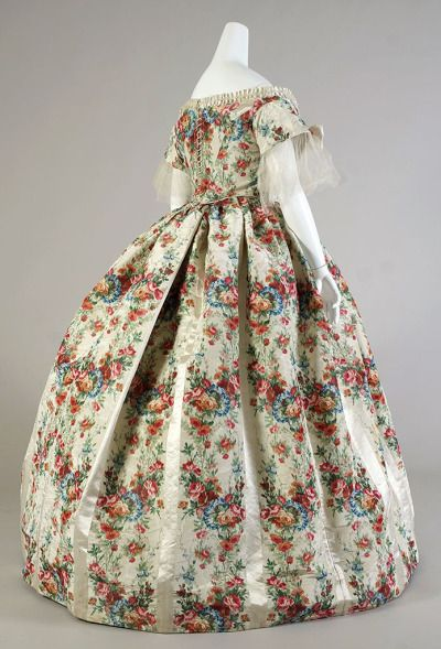 Evening dress ca. 1860