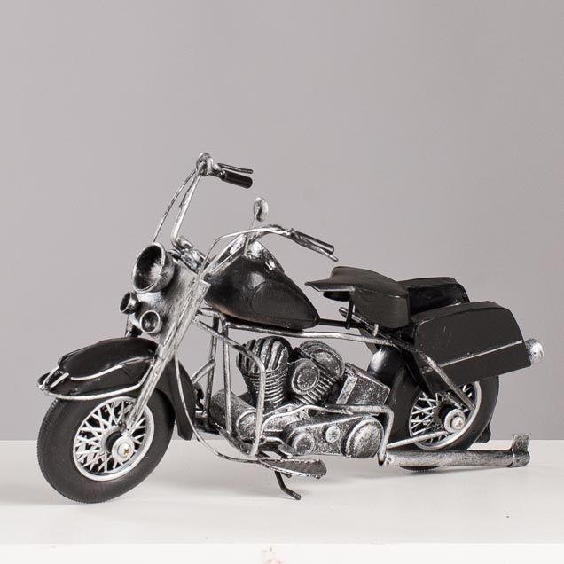 Miniatura Harley-Davidson Preta - Machine Cult - Kustom Shop | A loja das camisetas de carro e moto