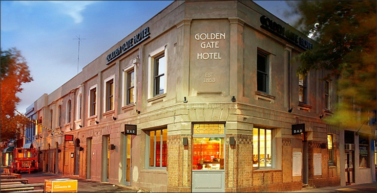 The Golden Gate Hotel - literally stumbling distance from #PPHQ and a nice place for a client lunch or after work drink! #pub #SouthMelbourne
