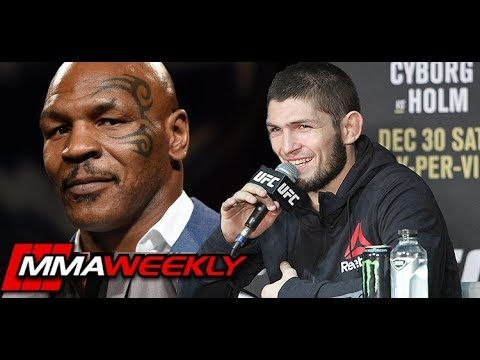 MMA Khabib Nurmagomedov Goes to Mike Tyson's House