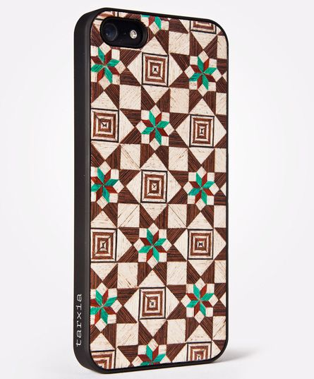 IPHONE 5/S WOOD CASE  SABIKA FOREST