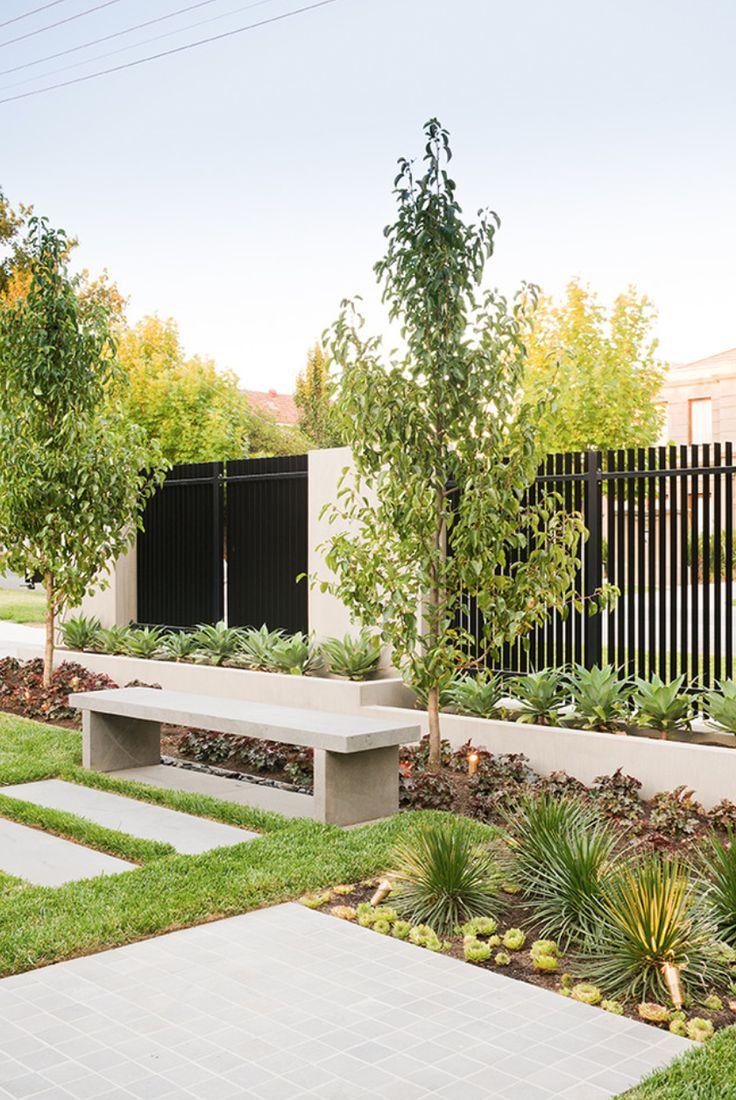 8 besten Front Yard Fence Bilder auf Pinterest | Landschaftsbau ...
