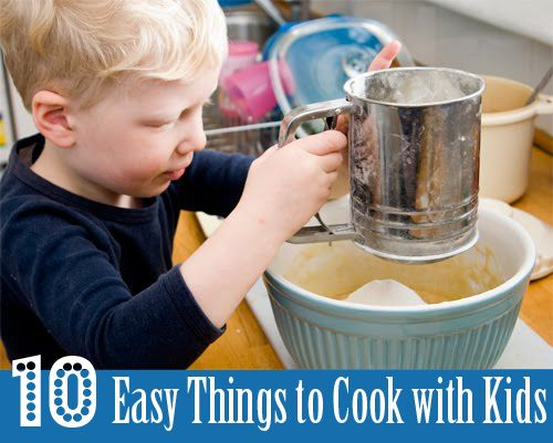 Following on from SquiggleMums delicious kids in the kitchen post, the lovely Kate of Picklebums shares 10 yummy and simple recipe ideas just right for the helping hands of little people. Fruit Sa...