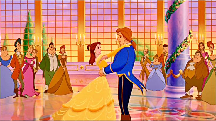 Princess Belle and Prince Adam |  Disney Characters