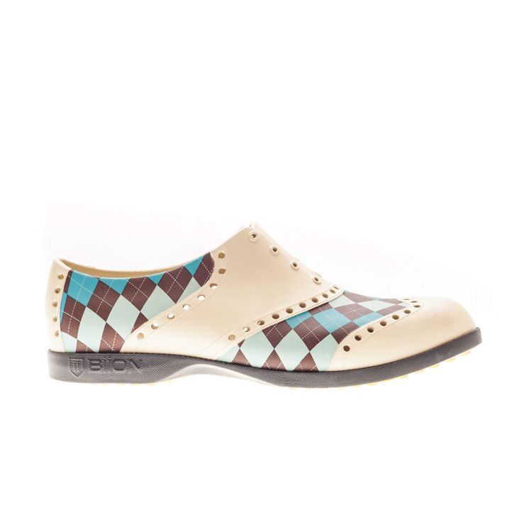 Biion Shoes - Argyle Pattern