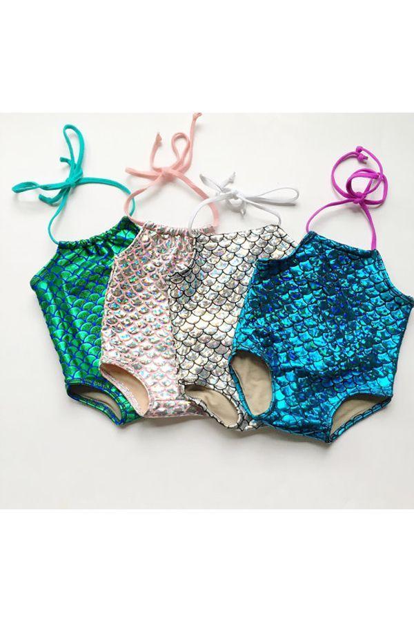 a88653d2f6 Baby Girl Mermaid Bathing Suit,Toddler Girl Mermaid Swimwear, Mermaid Suit, Mermaid  Bikini