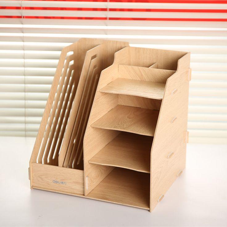 Сочетание многофункциональный файл коробка шерсть колонке файл рабочего коробка для хранения данных стойку канцелярские office организатор стол купить на AliExpress
