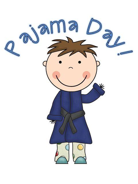 Pajama Day! Cute pic.