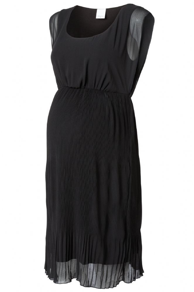 Little black formal evening maternity dress for special occasions and functions where you need something just a little bit more glamourous than your