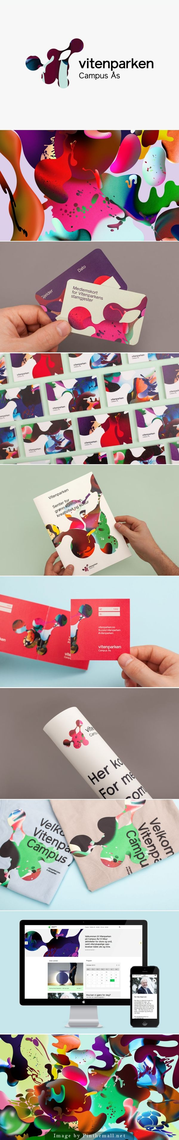 Vitenparken designed by Bielke+Yang http://bpando.org/2014/04/14/brand-identity-vitenparken/