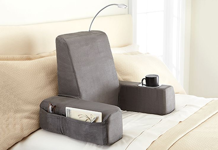 Backrest Pillow For Bed With Arms