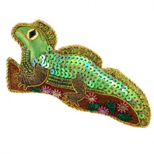 Tuatara / Lizard Collectible Decoration by Caroline Mitchell