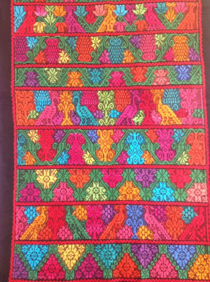Pepenado hilv n muestrario bordados cuetzalan puebla for Muestrario de pinturas