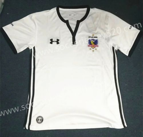 4f9b2a4bd 2017-18 Colo-Colo Home White Tailand Soccer Jersey AAA Top Soccer