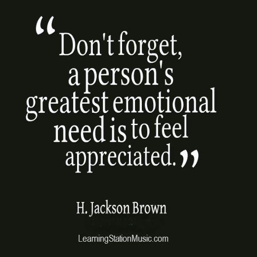 Apreciază pentru a fi apreciat! Mic ghid de apreciere.