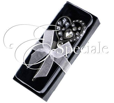 Tappo per il Vino Cuore Strass - Prodotti Tema Vino - Shop Per Tema - accessori e gadget per matrimoni e feste - E-speciale