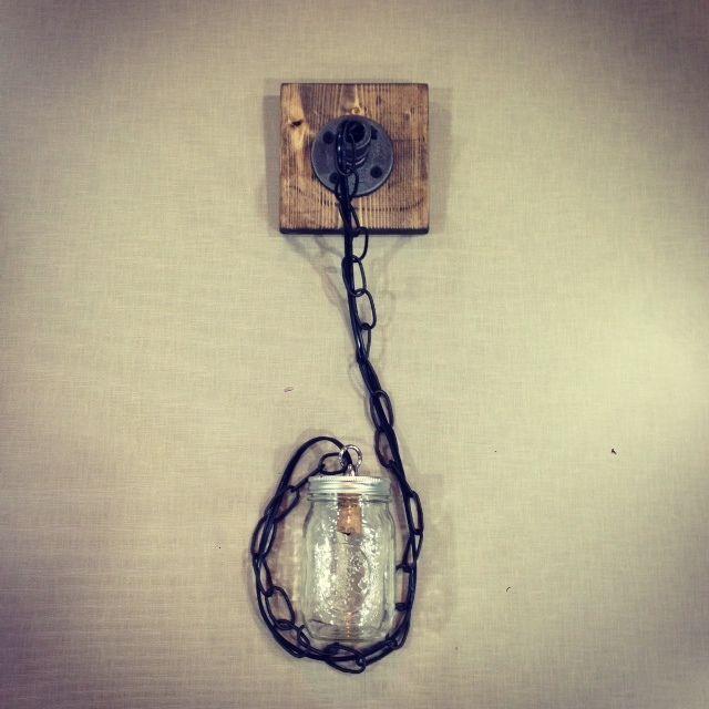 Rustic Industrial Modern Mason Jar Lights Vanity Light: 17 Best Images About Style On Pinterest