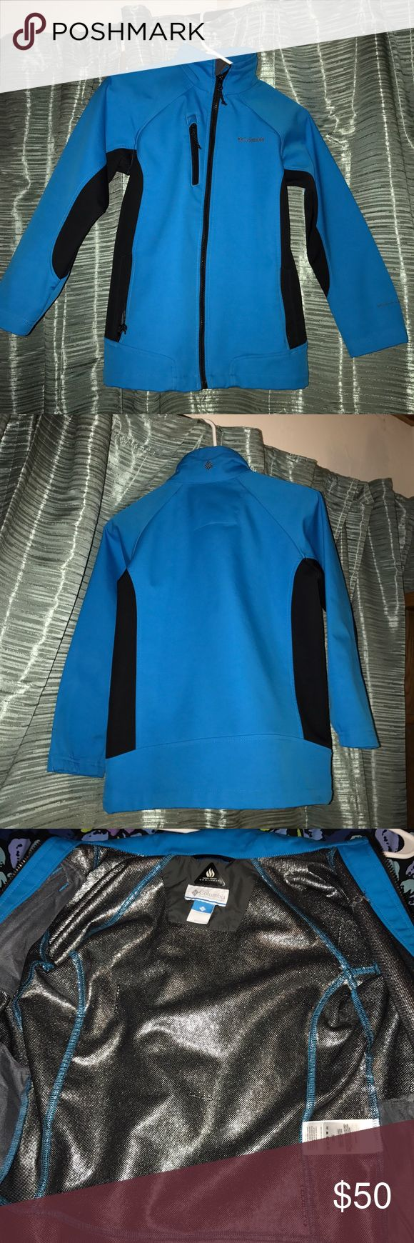 Columbia jacket Colombia thermal comfort Omni heat jacket/coat. No stains or tears and barely worn, just outgrew. 100% polyester. Columbia Jackets & Coats