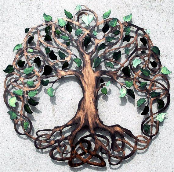 Tree of Life Infinity Tree Wall Decor  by HumdingerDesignsEtsy, $180.00   new website humdingerdesigns.com