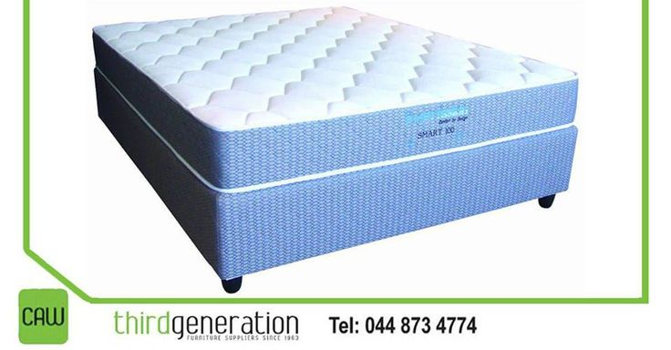 Get this Smart 100 bed set from #ThirdGenerationCAW, was R3495, now only R2295. Prices valid until 26 May 2016 or while stocks last. T's & C's apply, E&OE.
