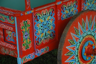 The Handpainted Ox cart is a national symbol in Costa Rica.