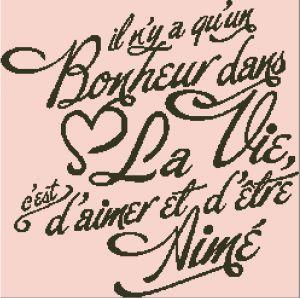 Affiche «Aimer et être Aimé»
