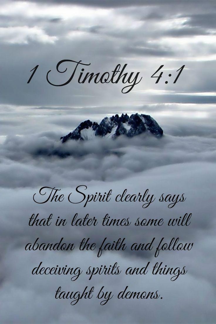 1 Timothy 4:1