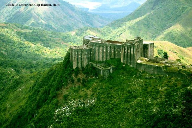 The Citadelle Laferrière is a large mountaintop fortress located in northern Haiti