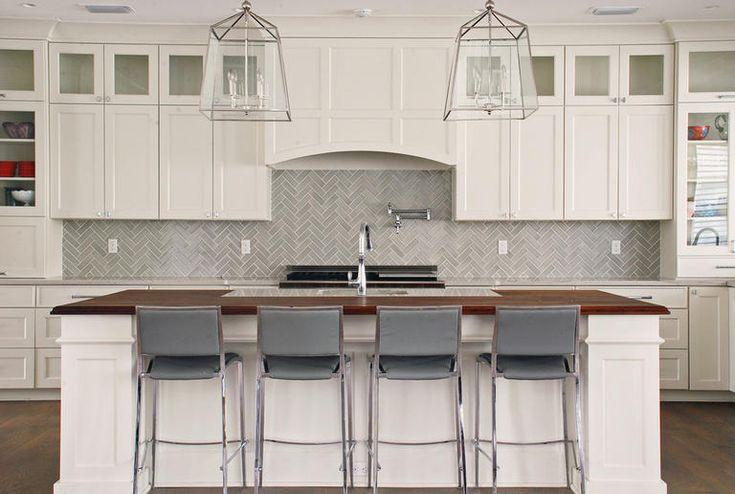 Herringbone Kitchen Backsplash In 2020 Fireclay Tile