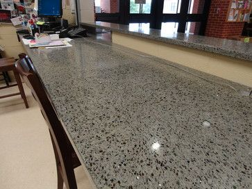 Vetrazzo and recycled glass counter tops - mediterranean - kitchen countertops - other metro - Huntsville Granite & Marble