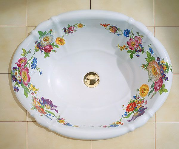 1000 Images About Crafts Sinks Handpainted On Pinterest