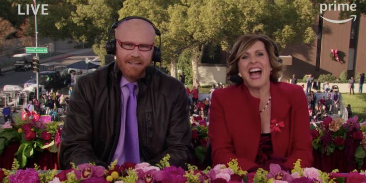 Will Ferrell and Molly Shannon Baffle Amazon Viewers with Parody Rose Parade Coverage
