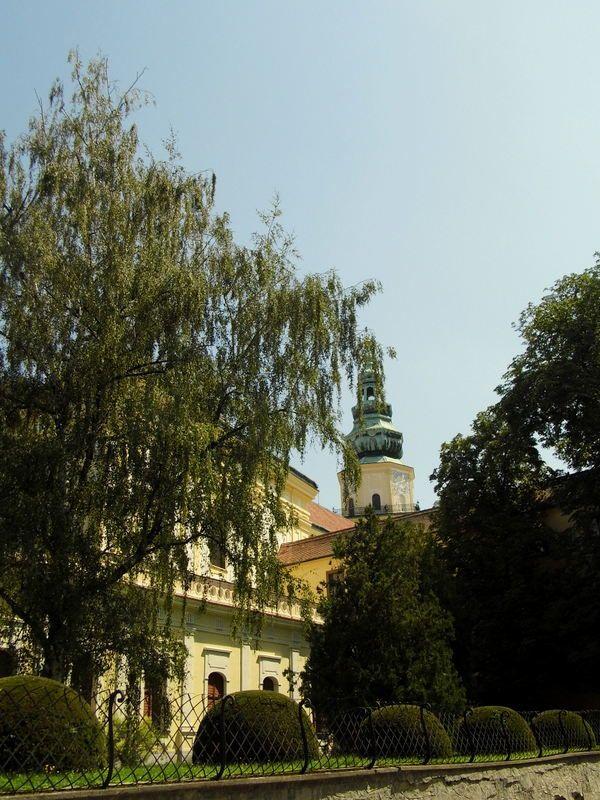 beautiful city Kroměříž