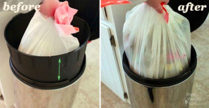 L'astuce magique pour que retirer le sac poubelle devienne un jeu d'enfant
