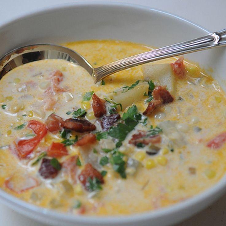 Summer Corn Chowder recipe on Food52