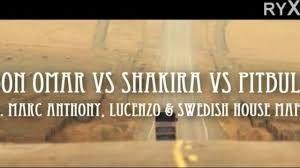 Pitbull VS Shakira VS Don omar Latest Video Songs HD 1080p