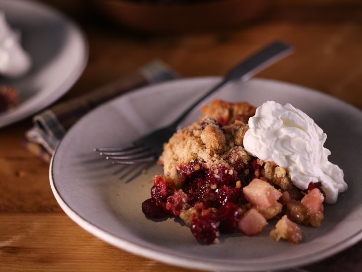 Get this all-star, easy-to-follow Sunny's Cranberry, Apple and Fig Streusel Tart recipe from Sunny Anderson.