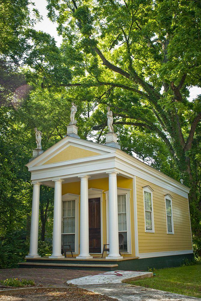 Yellowtemple Jpg Greek Revival Home Greek Revival Architecture House Exterior