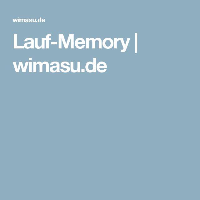 Lauf-Memory | wimasu.de