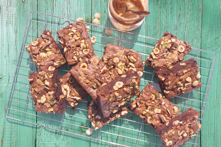 Toasted Nut Brownies