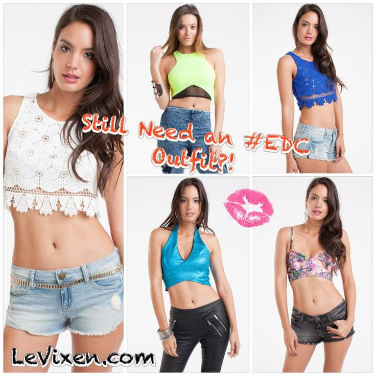 Having Trouble finding your #outfit for EDC?!  SHOP LeVixen NOW!   www.levixen.com  ☀️Electric Daisy Carnival is in 4 more days!☀️ WHO IS READY FOR #EDCVEGAS ! ♡♡ #womensclothing #fashion #fashionista #summerfashion #summer #newarrival #sale #shopping #edc #ootd #ootn #lookbook #dailylook #edcoutfit #vegas #wiwt #chic #glam #model #pretty #love #croptop #lace #halter #electricdaisycarnival