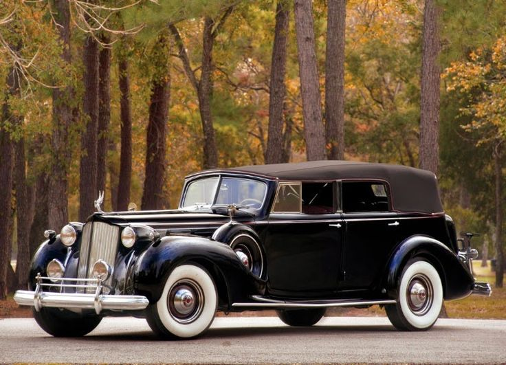 Welt der Oldtimer: Packard Twelve Cabrio Limousine 1938 – Welt der … – Matei Florea