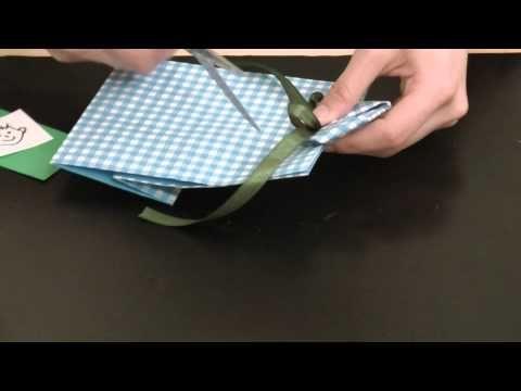 紙袋でつくるシャツ 母の日・父の日プレゼント - YouTube