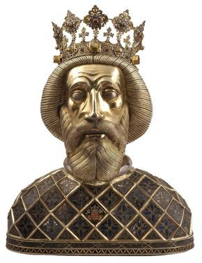 Reliquary of St. Ladislaus I, King of Hungary (c. 1045-1095) - 14th century