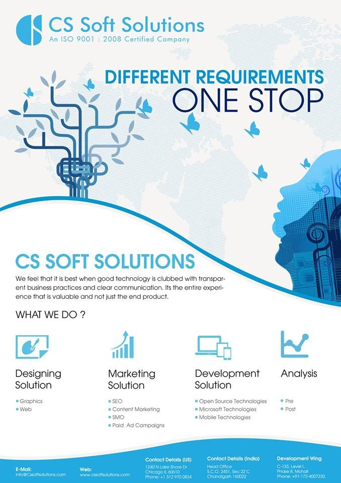 Different requirements, One Stop: CS Group