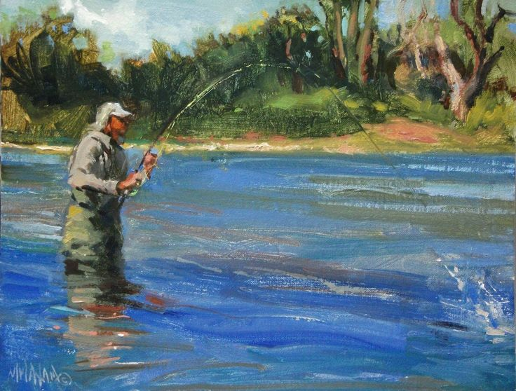 9 best today 39 s artists images on pinterest artworks for Franks great outdoors fishing report
